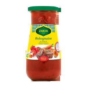 Sauce Bolognaise 400g Zakia