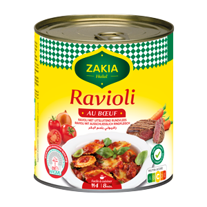 Ravioli bœuf 800g Zakia