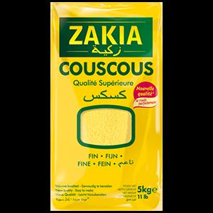 Couscous fin 5 kg Zakia
