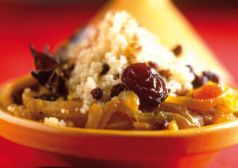 Couscous aux fruits secs Zakia