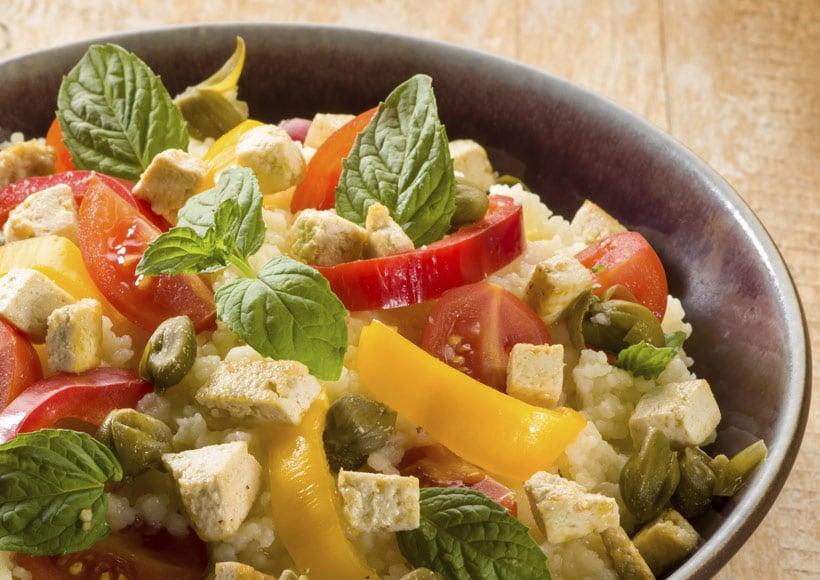 couscous végétarien Zakia