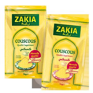 Gamme de Couscous Zakia